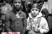 Lil Agz & Yxng KA Sneaker Give Away At GB NYC 10.21.20