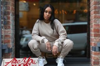 Kim K Sweat Suit PhotoShoot Downtown Bk 11.10.20